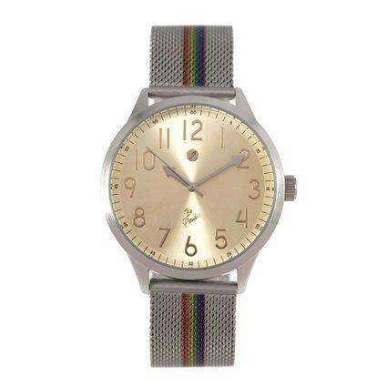 Relógio Analógico Feminino True Colors Dourado RE.MT.0996-2107