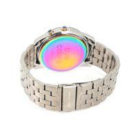 Relógio Digital Unissex True Colors Redondo Prata RE.MT.1078-0707.2