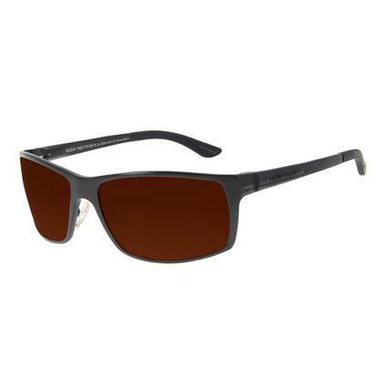 Óculos de Sol Masculino Chilli Beans Performance Polarizado Marrom OC.AL.0244-0201
