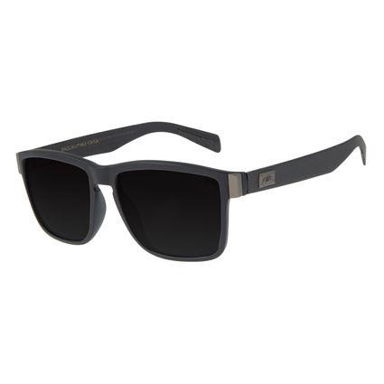 Óculos de Sol Masculino Chilli Beans Essential Quadrado Preto Fosco Polarizado OC.CL.2981-0131