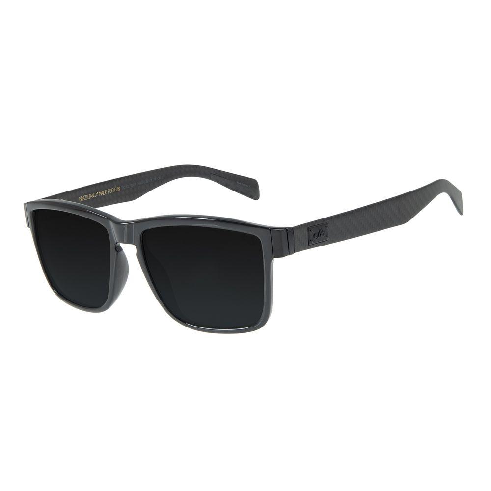 Óculos de Sol Masculino Chilli Beans Essential Quadrado Flash Polarizado OC.CL.2981-0030