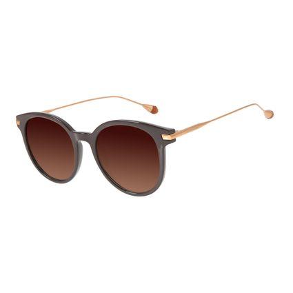 Óculos de Sol Feminino Chilli Beans Cristal Polarizado Marrom OC.CL.3018-5702