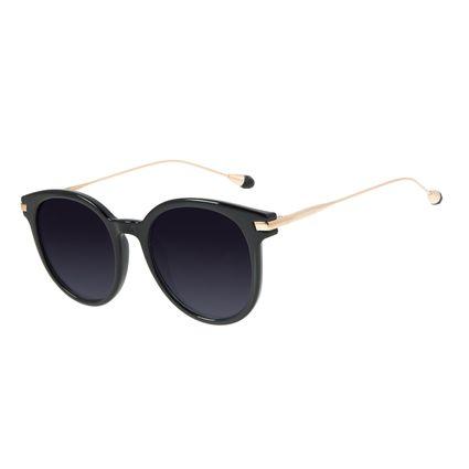 Óculos de Sol Feminino Chilli Beans Cristal Polarizado Preto OC.CL.3018-2001