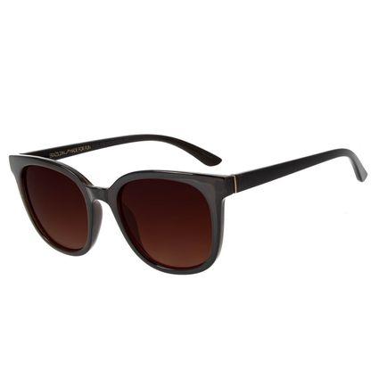 Óculos de Sol Feminino Chilli Beans Quadrado Casual Marrom OC.CL.3032-5702