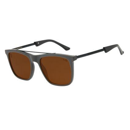 Óculos de Sol Masculino Alexandre Herchcovitch Bossa Nova Marrom OC.CL.3042-0202