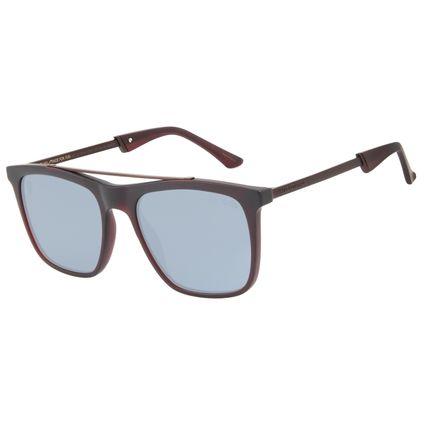 Óculos de Sol Masculino Alexandre Herchcovitch Bossa Nova Vinho OC.CL.3042-2017