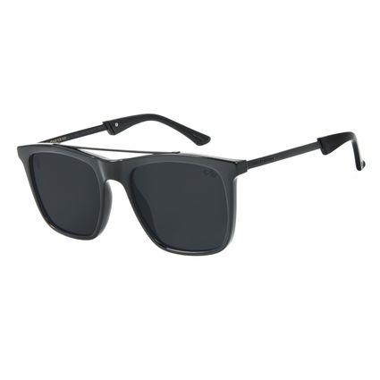 Óculos de Sol Masculino Alexandre Herchcovitch Bossa Nova Preto OC.CL.3042-0101