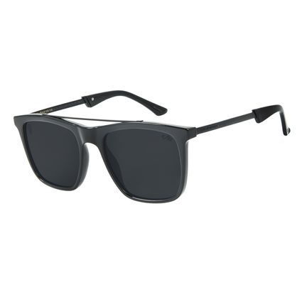 Óculos de Sol Masculino Herchcovitch Bossa Nova Preto OC.CL.3042-0101