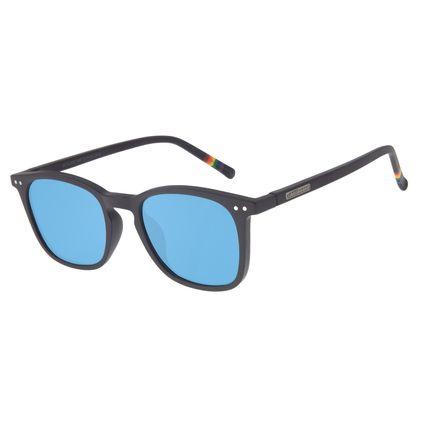 Óculos de Sol Unissex Chilli Beans True Colors Bossa Nova Azul OC.CL.3055-0808
