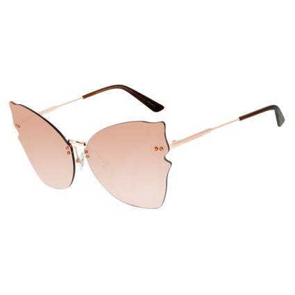 Óculos de Sol Feminino Mãe Natureza Gatinho Rose OC.MT.2881-0095