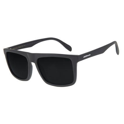 Óculos de Sol Masculino Chilli Beans Esportivo Preto Fume Polarizado OC.ES.1229-0501