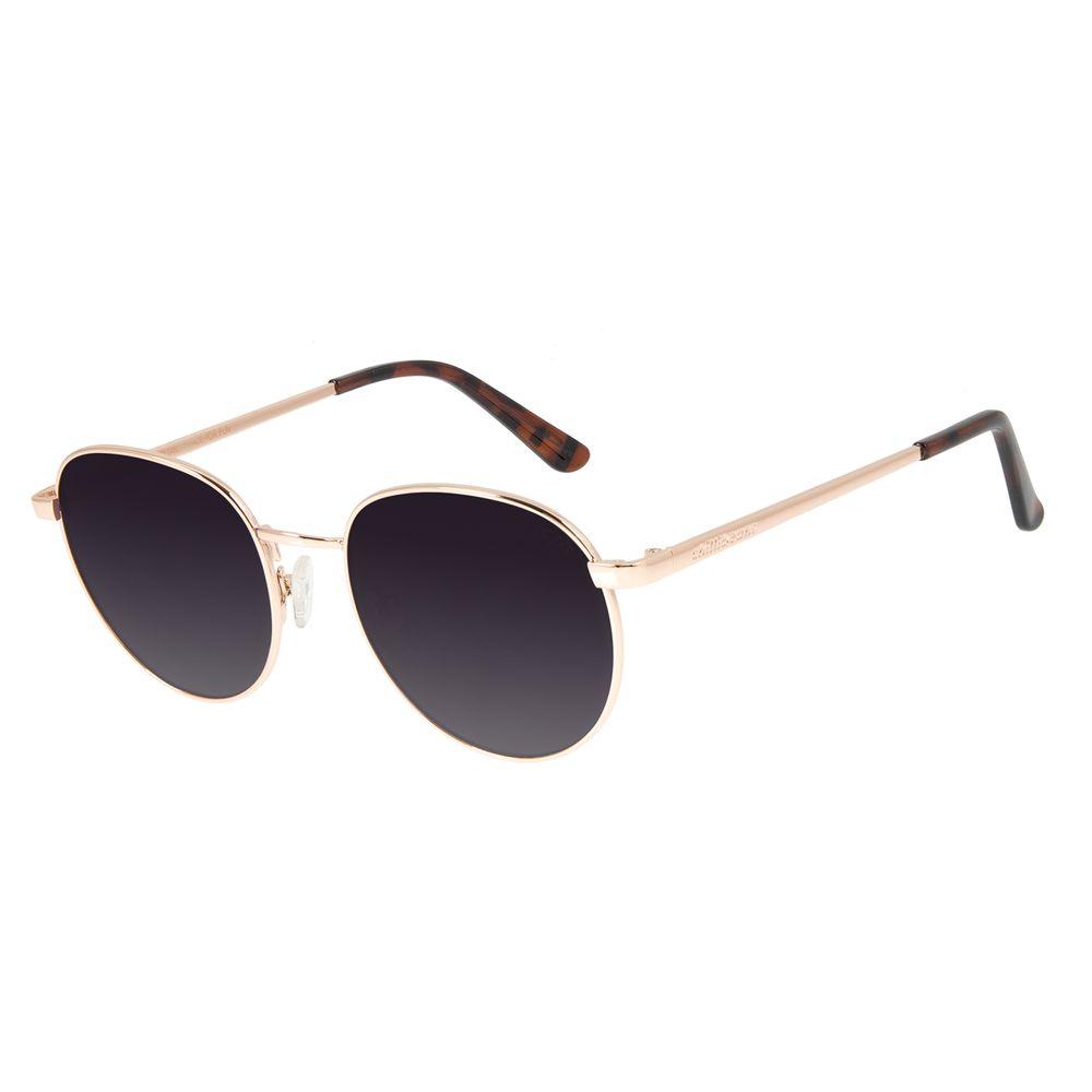 Óculos de Sol Unissex Chilli Beans Redondo Metal Rosé OC.MT.2825-2095