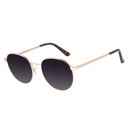 Óculos de Sol Unissex Chilli Beans Redondo Metal Rosê OC.MT.2825-2095