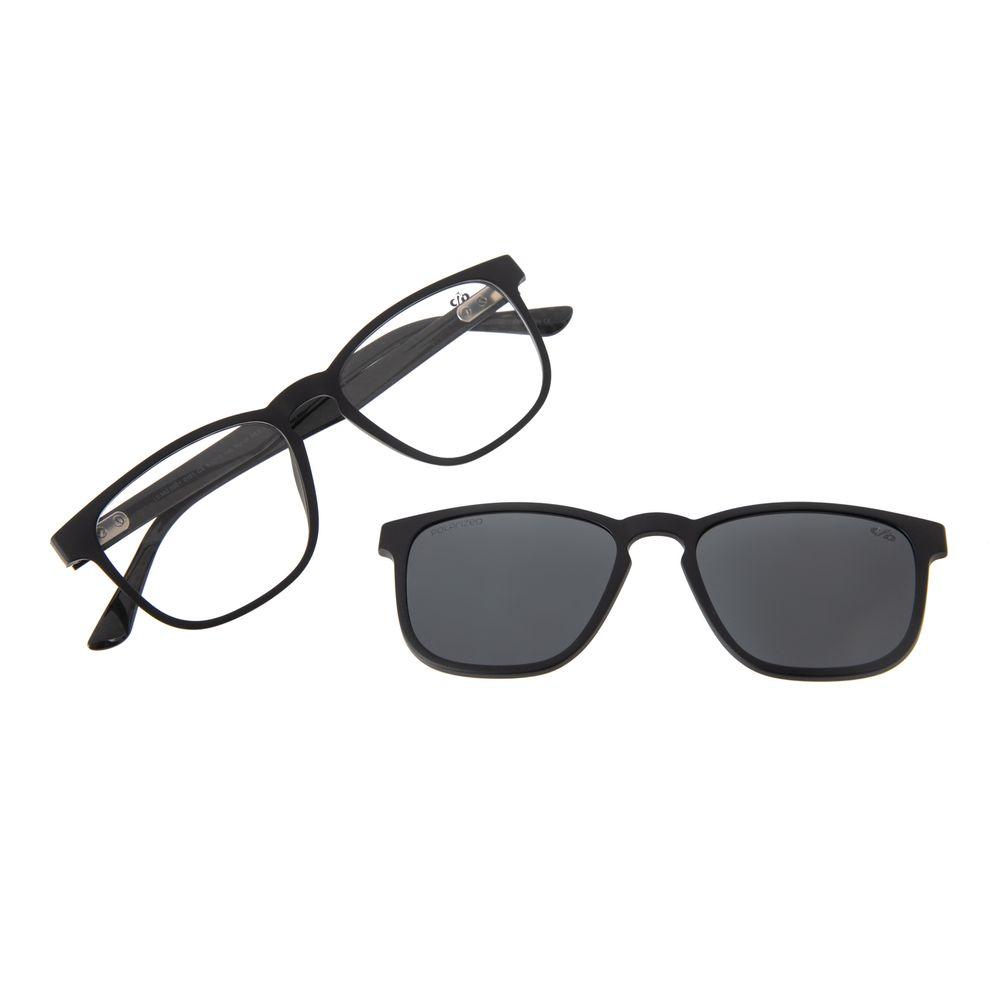 Armação Para Óculos De Grau Unissex Chilli Beans Multi Preta Polarizado LV.MU.0501-0101