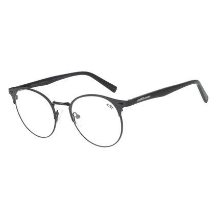 Armação Para Óculos de Grau Feminino Chilli Beans Redondo Preto LV.MT.0309-0101