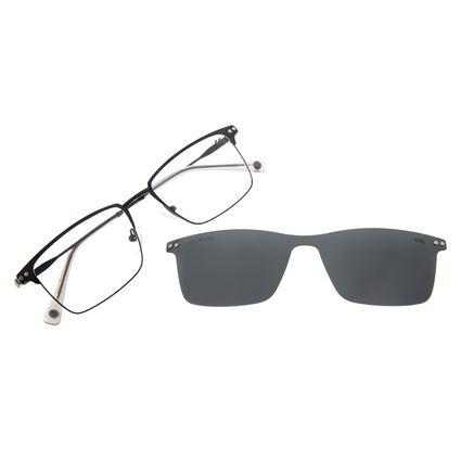 Armação Para Óculos de Grau Masculino Chilli Beans Multi Metal Preto Polarizado LV.MU.0426-0101