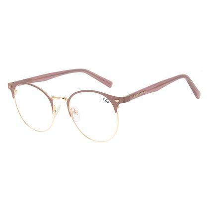 Armação Para Óculos de Grau Feminino Chilli Beans Redondo Rose LV.MT.0309-2395
