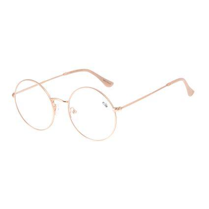 Armação Para Óculos de Grau Feminino Chilli Beans Redondo Rose LV.MT.0424-9595