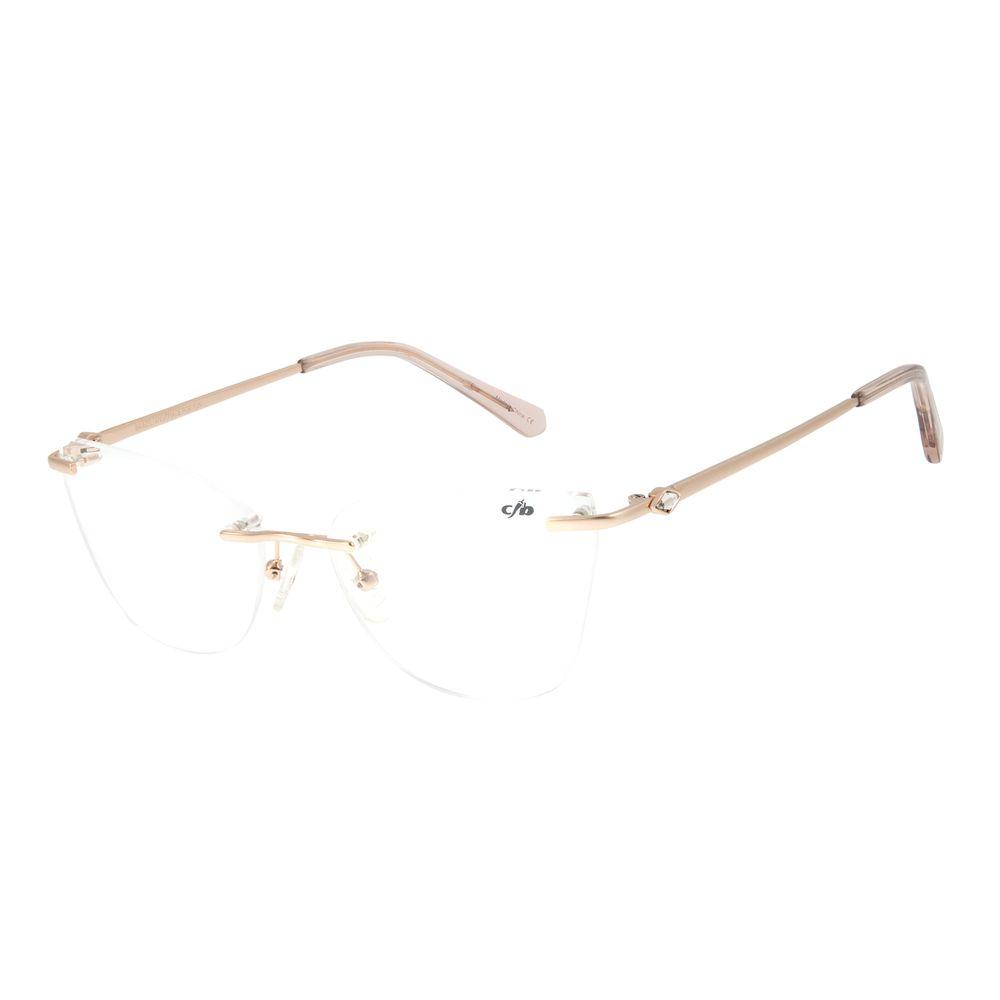 Armação Para Óculos de Grau Feminino Chilli Beans Classic 3 Peças Crystal Pérola LV.MT.0431-9393