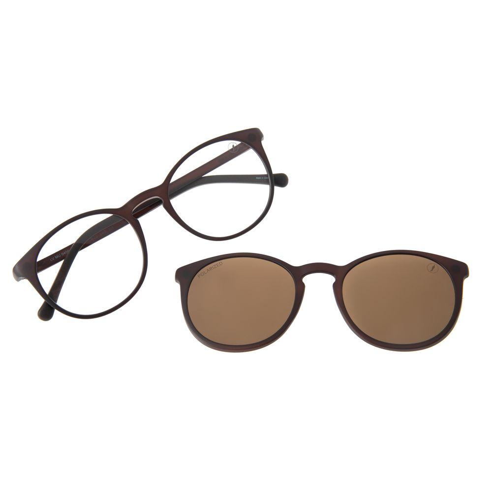 Armação Para Óculos De Grau Unissex Chilli Beans Essential Multi Fosco Polarizado LV.MU.0406-0231
