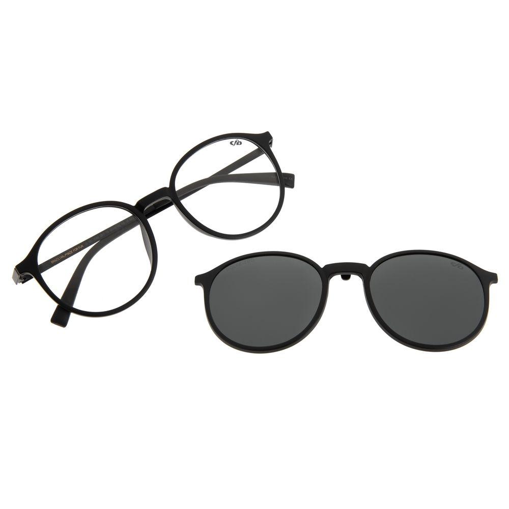 Armação Para Óculos de Grau Unissex Chilli Beans Multi Vinho Polarizado LV.MU.0342-2017