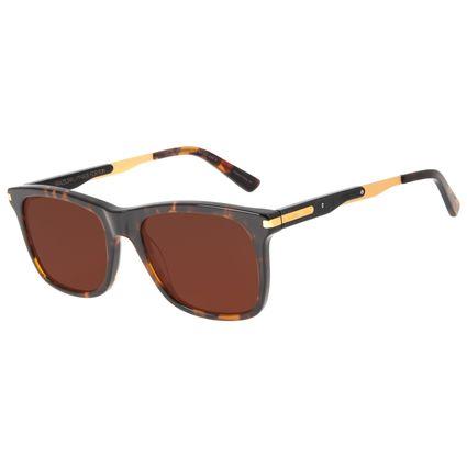 Óculos de Sol Masculino Barber Shop Bossa Nova Tartaruga OC.CL.3089-0206