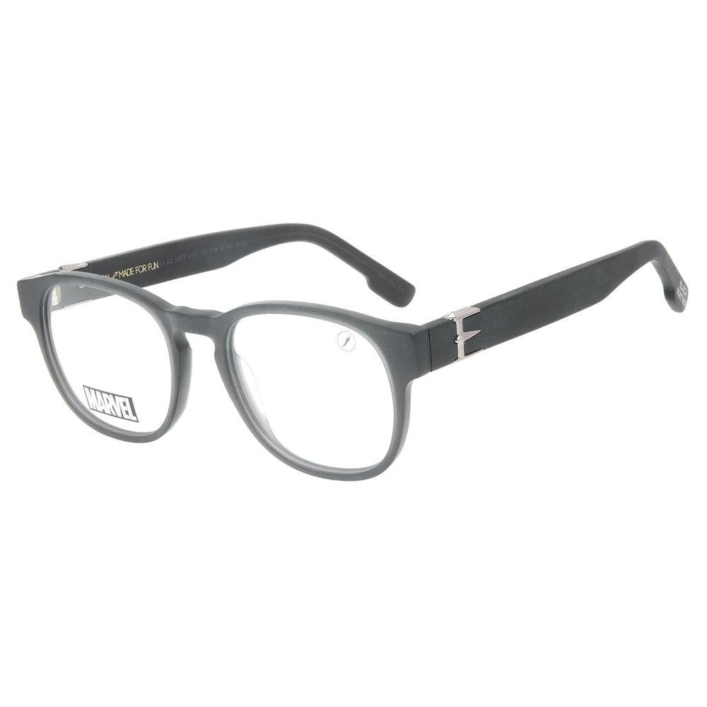 Armação Para Óculos de Grau Masculino Pantera Negra Preto LV.AC.0677-0101