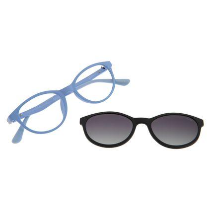 Armação Para Óculos De Grau Infantil Frozen II Multi Flexível Roxo LV.MU.0334-0190