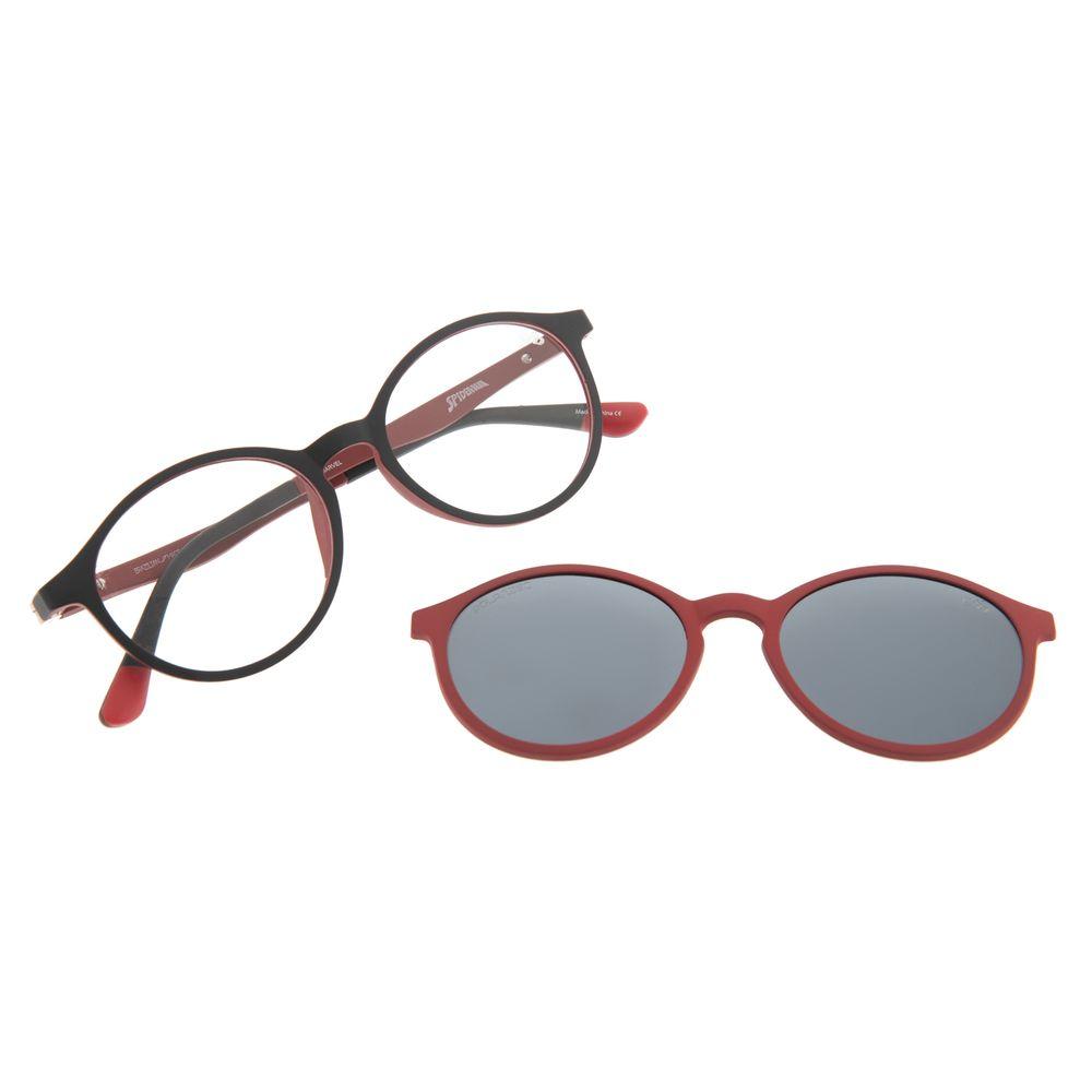 Armação Para Óculos de Grau Infantil Disney Homem Aranha Multi Vermelho LV.MU.0333-2001