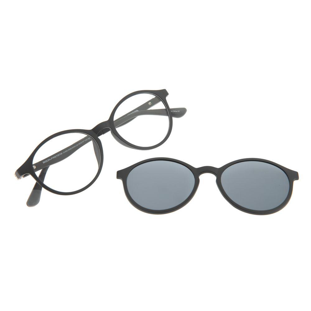 Armação Para Óculos de Grau Infantil Disney Homem Aranha Multi Preto LV.MU.0333-2008