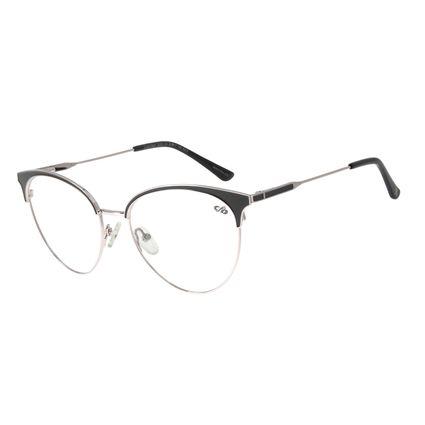 Armação para Óculos de Grau Feminino Chilli Beans Gatinho Ônix LV.MT.0421-2222