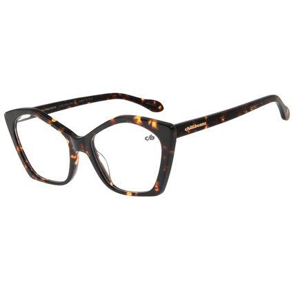 Armação Para Óculos de Grau Feminino Chilli Beans Multi Cat Tartaruga LV.AC.0554-0606