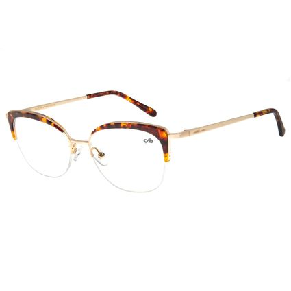 Armação Para Óculos De Grau Feminino Chilli Beans Jazz Dourado LV.AC.0556-0621