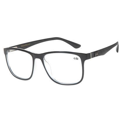 Armação Para Óculos De Grau Masculino Chilli Beans Quadrado Preto LV.IJ.0136-0101