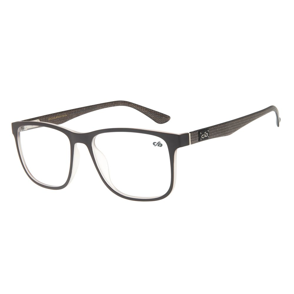 Armação para Óculos de Grau Masculino Chilli Beans Quadrado Marrom Escuro LV.IJ.0136-4747