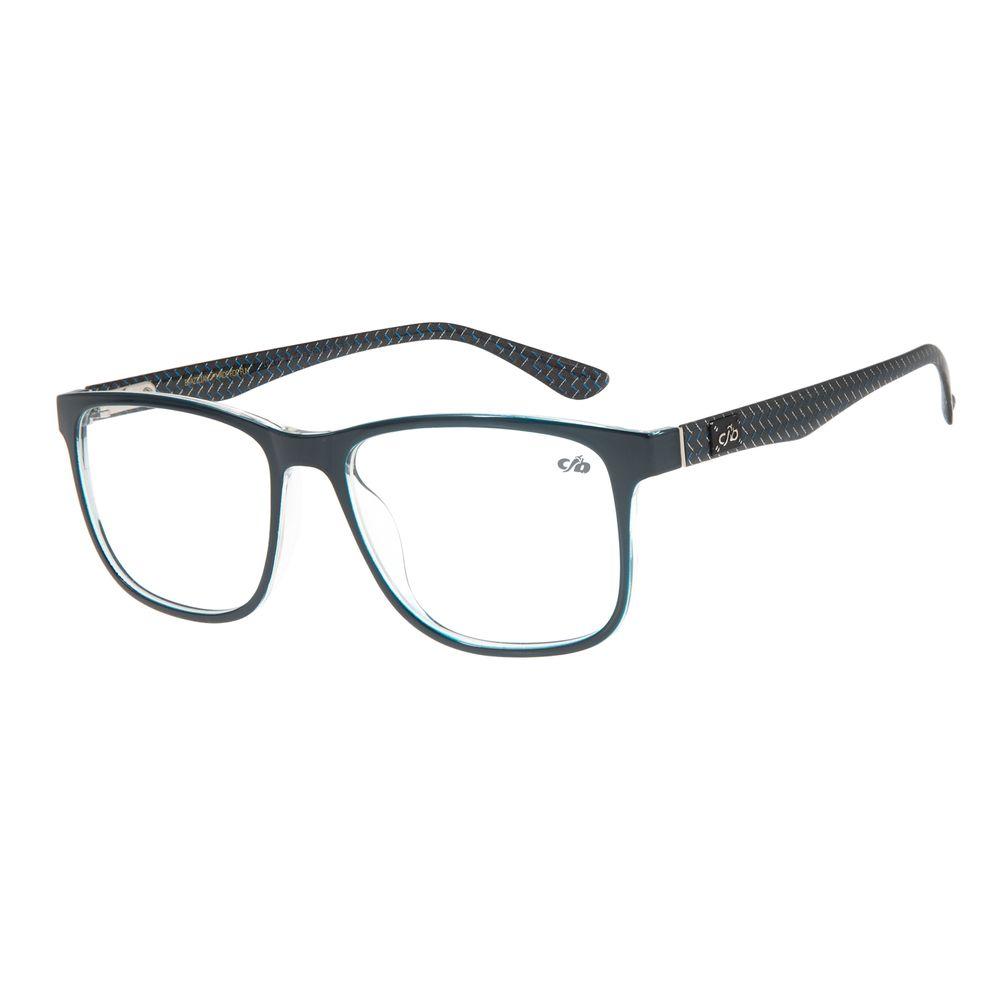 Armação para Óculos de Grau Masculino Chilli Beans Quadrado Azul LV.IJ.0136-9090