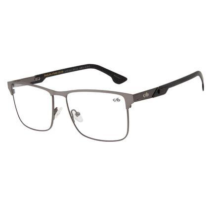 Armação Para Óculos De Grau Masculino Chilli Beans Classic Cinza Escuro LV.MT.0341-2828