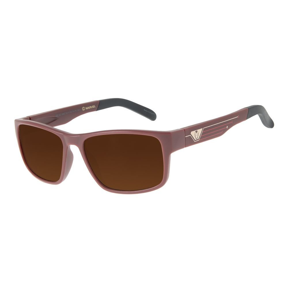Óculos de Sol Infantil Marvel Homem de Ferro Vermelho OC.KD.0667-0216