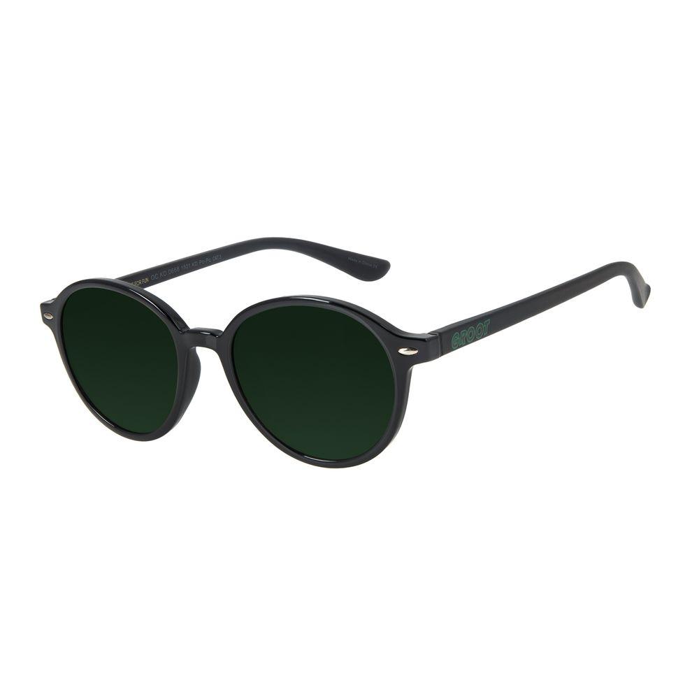 Óculos de Sol Infantil Marvel Groot Redondo Preto OC.KD.0668-1501