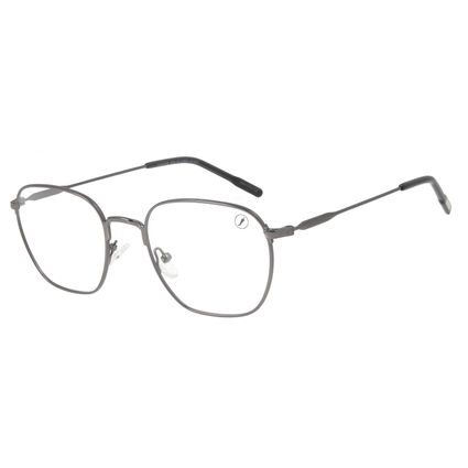 Armação Para Óculos de Grau Unissex Lollapalooza Brasil Ônix LV.MT.0478-2222