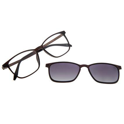 Armação Para Óculos de Grau Masculino Chilli Beans Multi Degradê Preto Polarizado LV.MU.0175-2001
