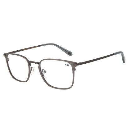 Armação Para Óculos de Grau Masculino Barber Shop Quadrado Ônix LV.MT.0451-2222
