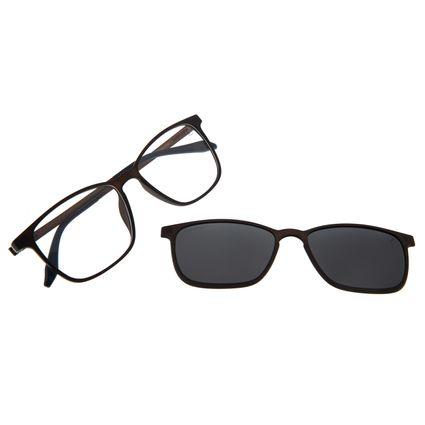 Armação Para Óculos De Grau Masculino Chilli Beans Essential Multi Preto Polarizado LV.MU.0407-0131