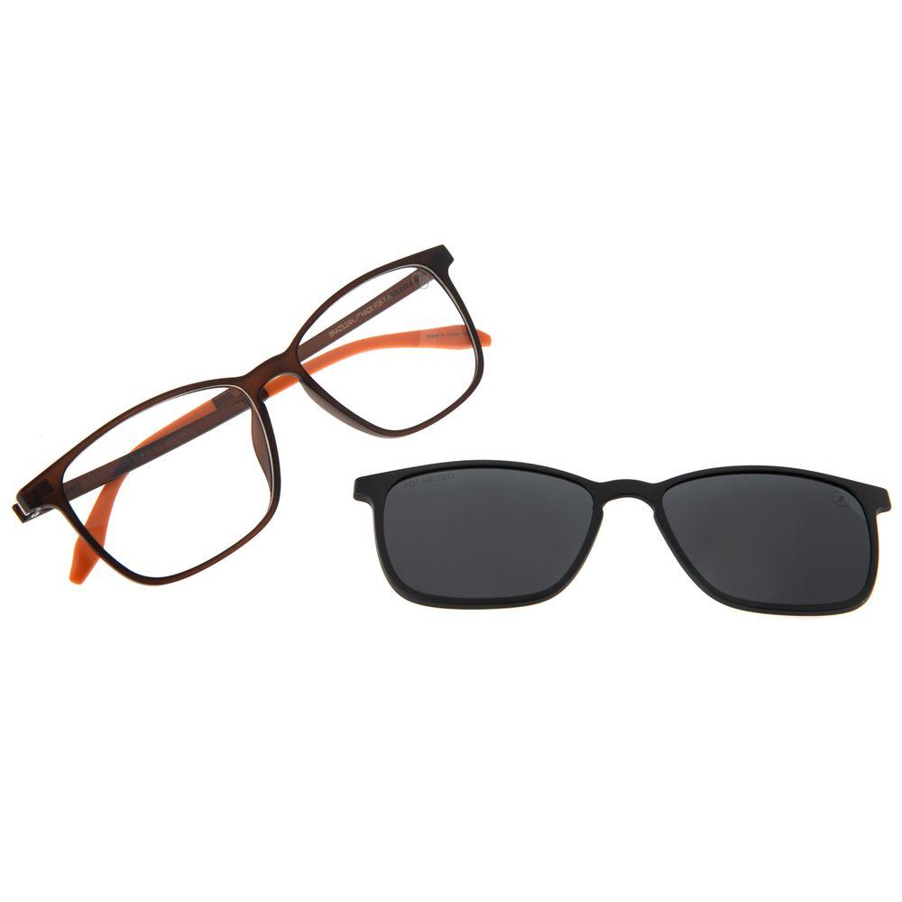 Armação Para Óculos De Grau Masculino Chilli Beans Essential Multi Fosco Polarizado LV.MU.0407-0231