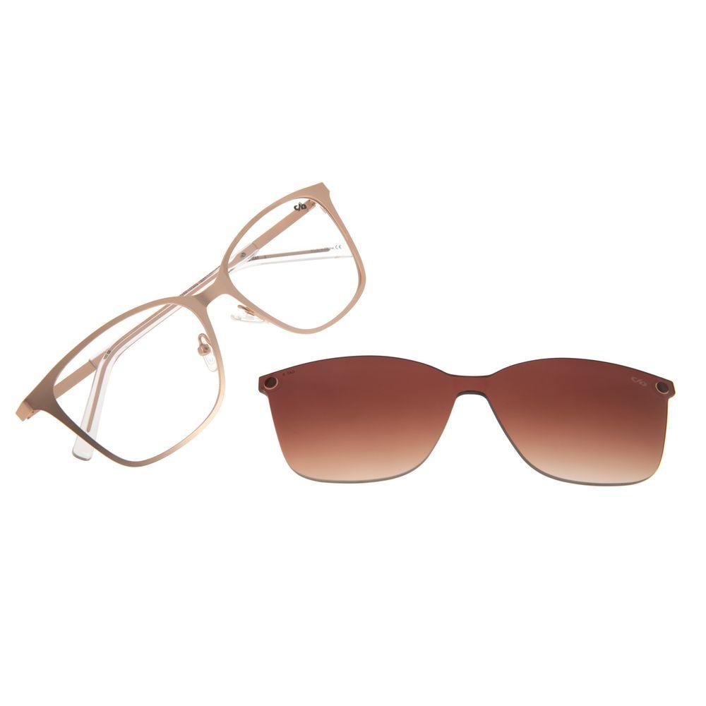 Armação Para Óculos de Grau Feminino Chilli Beans Multi Dourado LV.MU.0425-5721