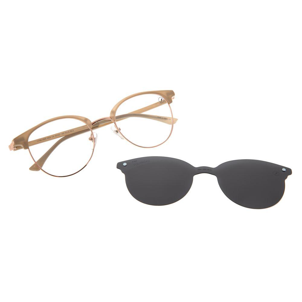 Armação Para Óculos De Grau Feminino Chilli Beans Multi Polarizado Bege LV.MU.0500-0523