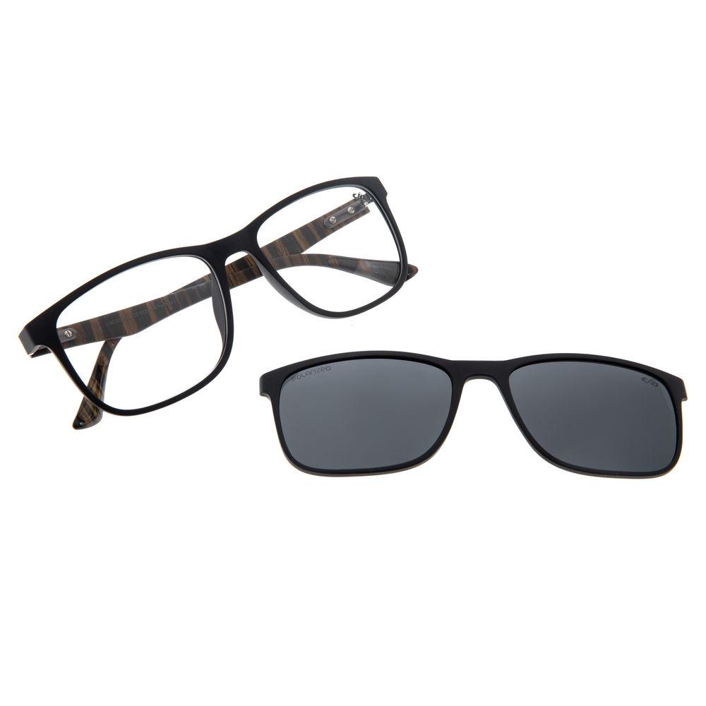 Armação Para Óculos de Grau Masculino Chilli Beans Multi Preto Wood LV.MU.0395-0401