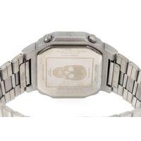 Relógio Digital Masculino Alexandre Herchcovitch Quadrado Prata RE.MT.1000-0707.6