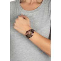 Relógio Analógico Feminino Chilli Beans Facetado Marrom RE.MT.1107-0202.4