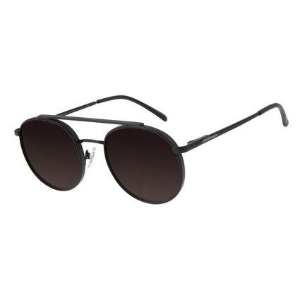 Óculos de Sol Unissex Chilli Beans Redondo Degradê Preto OC.MT.2848-2001